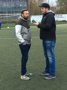 SVB Trainer Stefan Fröhlich zeigte sich sehr zufrieden im Interview mit Matchday Reporter Jan Stratmann.