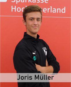 Wurde nach der Pause eingewechselt und traf doppelt: Joris Müller.