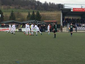 SVB Torjubel nach dem 2:0!