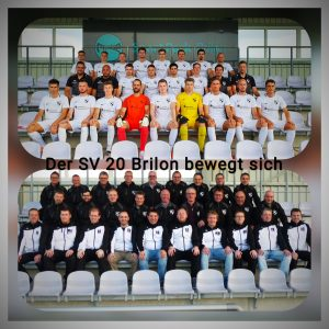 Die erste Mannschaft und die Alten Herren des SVB bewegen sich für den guten Zweck.
